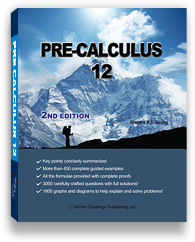 Pre-Calculus 12 Cover
